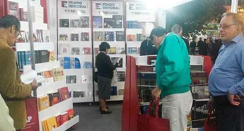 Participación 39 Feria del Libro Ricardo Palma - 2018