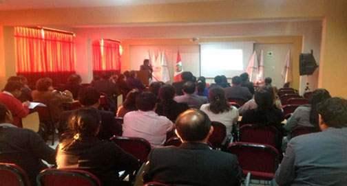 Socialización de bases para las convocatorias de Proyectos de Investigación a partir de fondos concursables – Filial Cajamarca