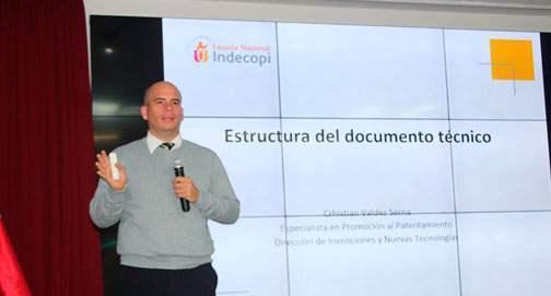 Capacitación en Propiedad Intelectual Patentes - INDECOPI
