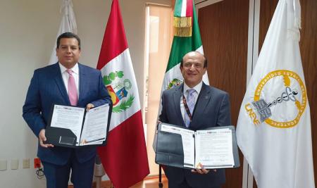 UAP Y UNEVE DE MÉXICO FIRMAN CONVENIO PARA ACTIVIDADES CONJUNTAS DE INVESTIGACIÓN