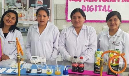 ESTUDIANTES DE LA UAP ORGANIZARON CON ÉXITO LA EXPOFERIA NUTRIFARMA