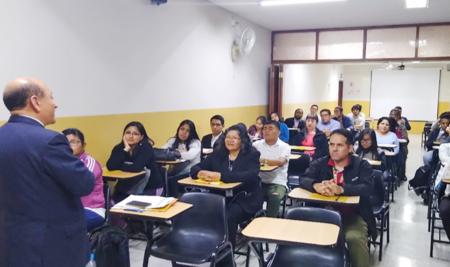 ALAS PERUANAS Y EL CONGRESO ORGANIZAN TALLER DE FORMACIÓN PARLAMENTARIA