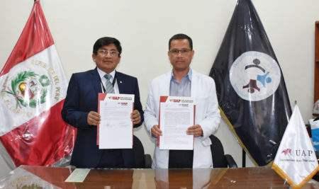 LA UAP Y EL HOSPITAL DE CHANCAY REAFIRMA CONVENIO PARA PRÁCTICAS CLÍNICAS E INTERNADO