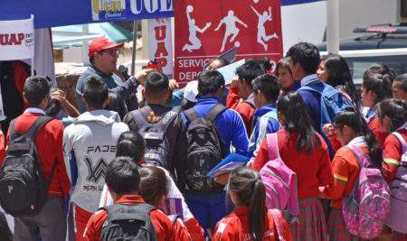 """UAP ANDAHUAYLAS PARTICIPA EN LA """"II EXPO VOCACIONAL CHINCHEROS 2019"""""""