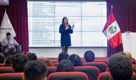 ESTUDIANTES DE DERECHO DE LA UAP SE INSCRIBEN EN PROGRAMA SECIGRA 2020
