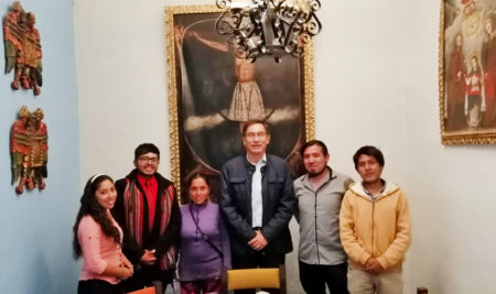 ESTUDIANTES DE LA UAP RECHAZAN ABUSO DE LA SUNEDU ANTE EL PRESIDENTE VIZCARRA