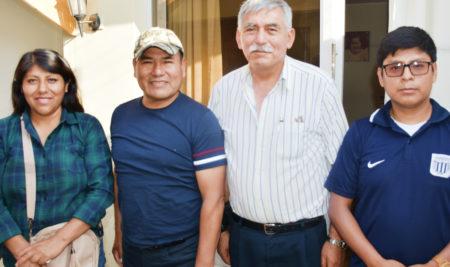 CONGRESISTA ELECTO POR TACNA SE REÚNE CON AUTORIDADES Y ESTUDIANTES DE LA UAP